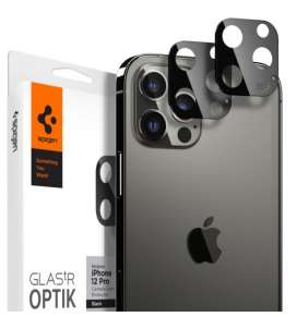 Spigen Optik Lens Protector pre iPhone 12 Pro - Black
