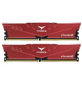 DIMM DDR4 32GB 3200MHz, CL16, (KIT 2x16GB), T-FORCE VULCAN Z, Red