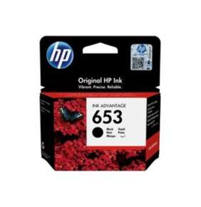 HP 653 Black Original Ink Advantage Cartridge