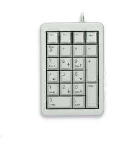 CHERRY numerická klávesnice G84-4700, USB, šedá