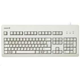 CHERRY G80-3000 BLACK SWITCH mechanická klávesnice EU layout bílá
