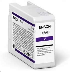 Epson Singlepack Violet T47AD UltraChrome