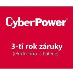 CyberPower 3-tí rok záruky pro BPSE240V47AOA