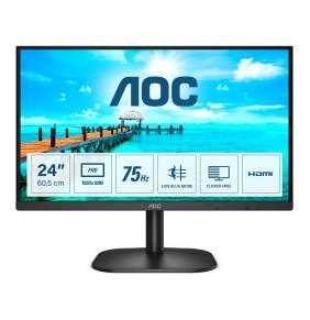 """AOC 24"""" LED 24B2XHM2 / VA / 1920x1080@75Hz / 16:9 / 4ms / 1x HDMI / 1x VGA"""