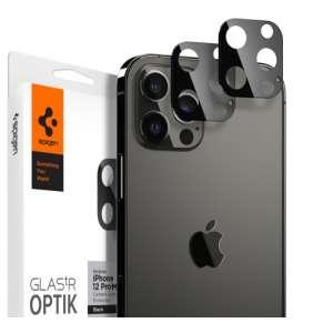 Spigen Optik Lens Protector pre iPhone 12 Pro Max - Black