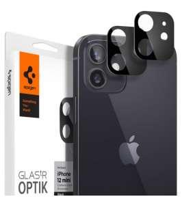 Spigen Optik Lens Protector pre iPhone 12 mini - Black