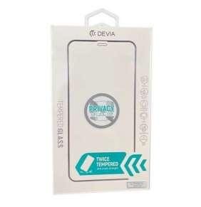 Devia ochranné sklo Real Series Privacy pre iPhone 12 mini - Black Frame
