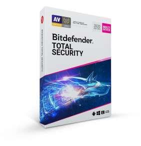 Bitdefender Total Security- 10 zařízení na 1 rok - BOX