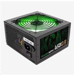 Aerocool zdroj KCAS 650W G RGB, APFC, 80Plus GOLD, retail