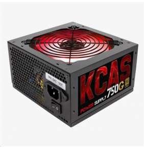 Aerocool zdroj KCAS 750W G RGB, APFC, 80Plus GOLD, retail