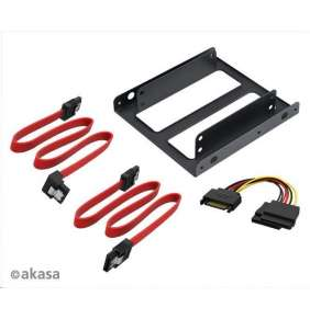 "AKASA adaptér pro 2,5"" HDD/SSD do 3,5"" vč. kabelů / AK-HDA-11 /"