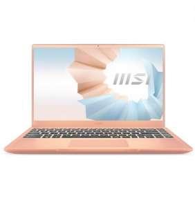 "MSI Modern 14"" FHD/i7-1165G7/16/512/MX450/W10H béž"