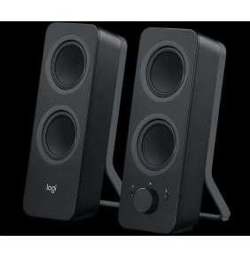 Logitech® Audio System 2.0  Z207 with Bluetooth – EMEA - Black