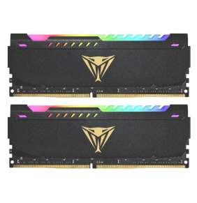 PATRIOT Viper Steel RGB 32GB DDR4 3200MHz / DIMM / CL18 / 1,35V / KIT 2x 16GB