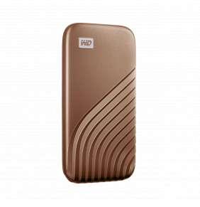 Ext. SSD WD My Passport SSD 2TB zlatá