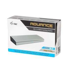 i-tec USB 3.0 METAL Docking Station DVI+HDMI/DP