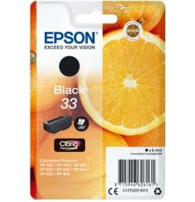 Epson inkoustová náplň/ T3331/ Singlepack 33 Claria Premium Ink/ Černá