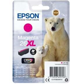 Epson Singlepack Magenta 26XL Claria Premium Ink