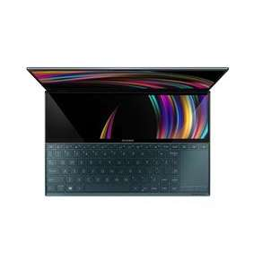 """ASUS Zenbook Duo UX482EA-HY071T Intel i7-1165G7 14,0"""" FHD Touch UMA 16GB 1T SSD WL BT Cam W10 modrý ScreenPad +"""