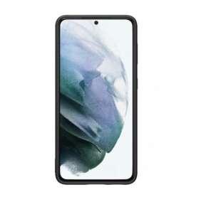 Samsung Silikonový zadní kryt pro S21+ Black