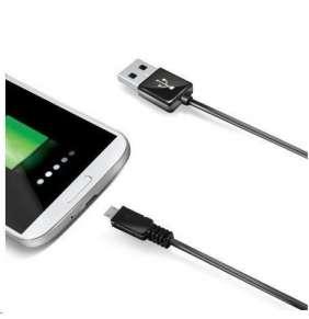 Celly datový kabel micro USB, délka 2 m, černá