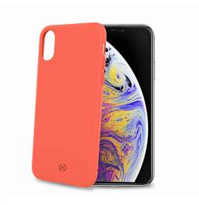 Celly zadní kryt Shock pro iPhone XS Max, oranžová
