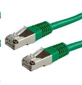 XtendLan Patch kabel Cat 6A SFTP LSFRZH 0,3m - zelený