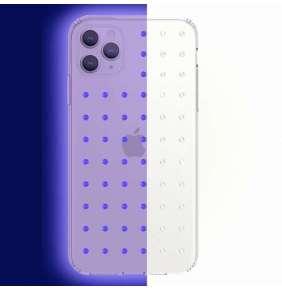 Swarovski kryt Extravaganza Clear Mini pre iPhone 11 Pro Max - Neon White