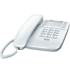 SIEMENS GIGASET DA510 - standardní telefon bez displeje, barva bílá