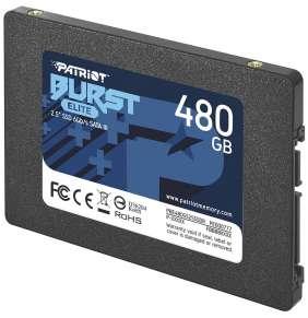"PATRIOT BURST ELITE 480GB SSD / Interní / 2,5"" / SATA 6Gb/s /"