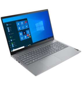 "Lenovo ThinkBook 15 G2 ARE/ RYZEN 5 4600U/ 8GB DDR4/ 512GB SSD/ RX Vega 6/ 15,6"" FHD IPS/ W10H/ Šedý"
