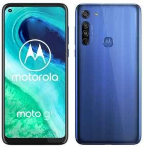 "Motorola Moto G8 - neon blue   6,4"" IPS/ Dual SIM/ 4GB/ 64GB/ LTE/ Android 10"