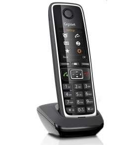 SIEMENS GIGASET C530 - DECT/GAP bezdrátový telefon, barva černá
