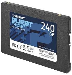 "PATRIOT BURST ELITE 240GB SSD / Interní / 2,5"" / SATA 6Gb/s /"