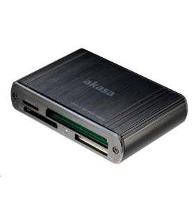 AKASA multi-čtečka paměťových karet, externí, USB 3.0