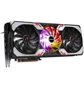 ASROCK Radeon RX 6800 XT Phantom Gaming D 16G OC / 16GB GDDR6 / PCI-E / 1x HDMI / 3x DP / ARGB LED