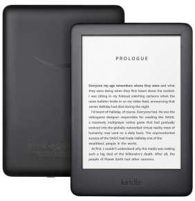 """AMAZON e-book reader Kindle TOUCH 2020/ 6"""" E-ink displej/ 8GB/ Wi-Fi/ SPONZOROVANÁ VERZE/ černá"""