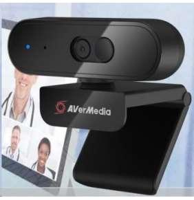 AVERMEDIA HD Webcam PW310P, Full HD 1080p video with autofocus