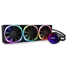 NZXT vodní chladič Kraken X73 RGB / 3x 120mm fan / LGA 2066/2011(-3)/1366/1156/1155/1151/1150/AM4/ 6 let