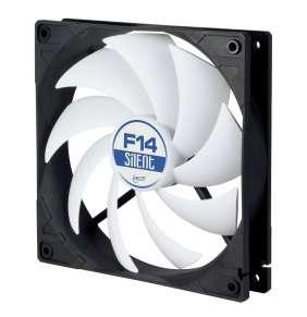 ARCTIC F14 Silent Case Fan - 140mm case fan with l