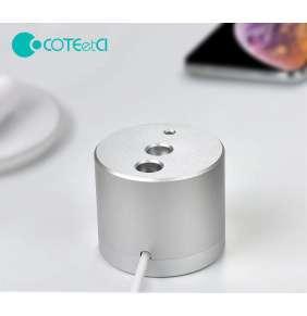 COTEetCI nabíjecí stanice SD-17 pro Apple Pencil stříbrná