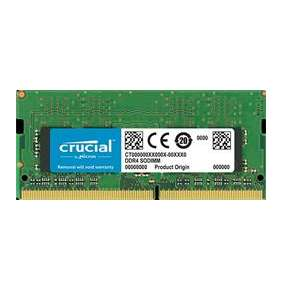 4GB DDR4 2666 MT/s (PC4-21300) CL19 SR x16 Crucial Unbuffered SODIMM 260pin
