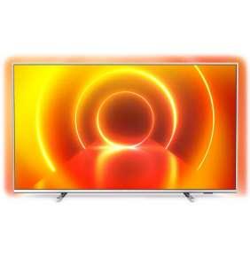 """PHILIPS SMART LED TV 58""""/ 58PUS7855/ 4K Ultra HD 3840x2160/ DVB-T2/S2/C/ H.265/HEVC/ 3xHDMI/ 2xUSB/ Wi-Fi/ LAN/ G"""