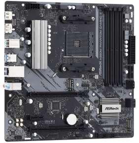 ASRock A520M PHANTOM GAMING 4 / AMD A520 / AM4 / 4x DDR4 DIMM / 2x M.2 /b HDMI / DP / mATX