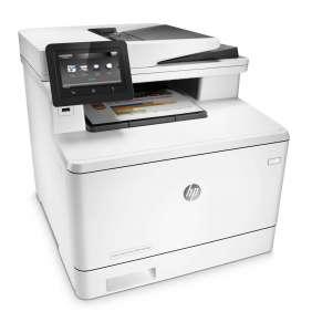 HP Color LaserJet Pro MFP M477fdn (A4, 27/27ppm, USB 2.0, Ethernet, Print/Scan/Copy/Fax, Duplex)