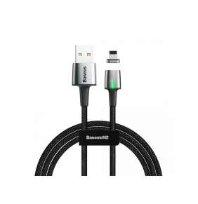 Baseus Zinc Magnetic Cable USB for Lightning 2.4A 1M Black