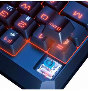 Baseus GAMO One-Handed Gaming Keyboard Black