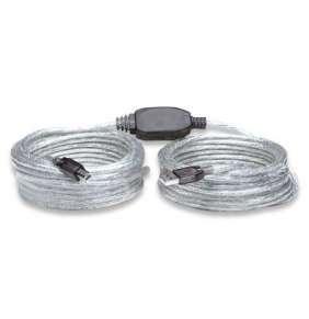 Manhattan Vysokorýchlostný USB aktívny kábel A-B M/M 11m