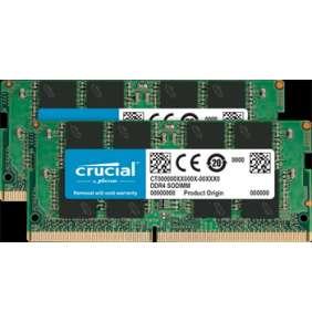 8GB Kit (4GBx2) DDR4 2666 MT/s (PC4-21300) CL19 SR x8 Crucial SODIMM 260pin