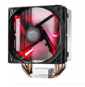 Cooler Master chladič Hyper 212 LED, univ. socket, 120mm PWM red LED fan